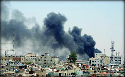 """الابراهيمي يدين التفجيرات التي وقعت في دمشق ويصفها """" بالوحشية """""""
