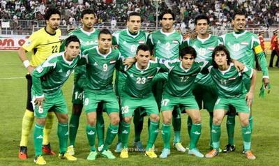 المنتخب العراقي يتراجع 6 مراكز في التصنيف العالمي