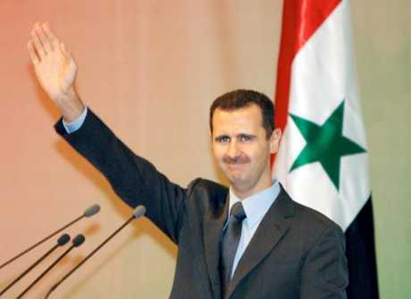 بشار الاسد : اسرائيل تعمل على زعزعة الاستقرار في سوريا