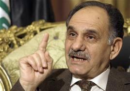 المطلك  يضع استقالته من الحكومة تحت تصرف القائمة العراقية