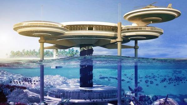 التخطيط لبناء أكبر فندق تحت الماء في دبي