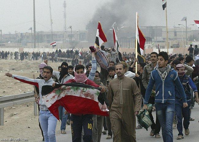 """كوردستان:  مهاجمة المتظاهرين في الفلوجة  """"خرقا دستوريا"""""""