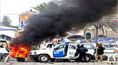 انفجار سيارة مفخخة في جلولاء