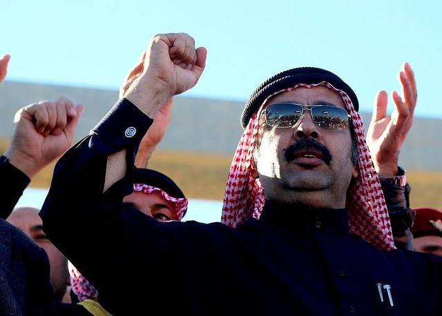 أبو ريشة :ماجد السليمان تجاوز مطالب المتظاهرين لتحقيق مصالحه الشخصية