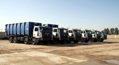 أمانة بغداد تتعاقد مع شركة لتجهيز بـ150 آلية خدمية