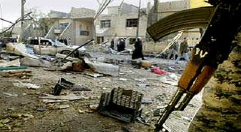انفجار عبوة ناسفة بمنزل في المقدادية