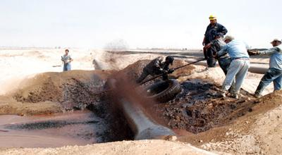 كردستان : تعويض الفلاحين المكتشف في أراضيهم النفط