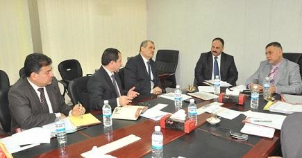 لجنة النزاهة تستضيف رئيس هيئة النزاهة لمناقشة مسألة حسم القضايا المتأخرة