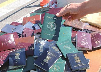 إقليم كوردستان يعلن اكتشافه جوازات سفر مزورة
