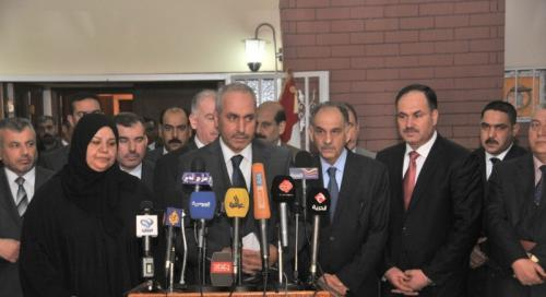 العراقية : نطالب التحالف الوطني بتقديم مرشح بديل عن المالكي