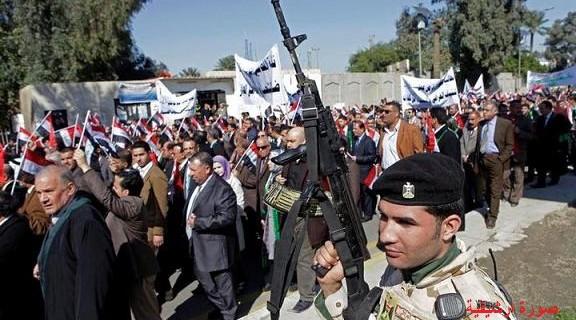 السلطات الأمنية في واسط تمنع وسائل الإعلام من تغطية المظاهرات
