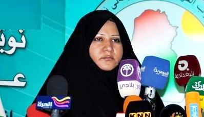 الصدر: يعين اسماء الموسوي مستشارة له للشؤون البرلمانية
