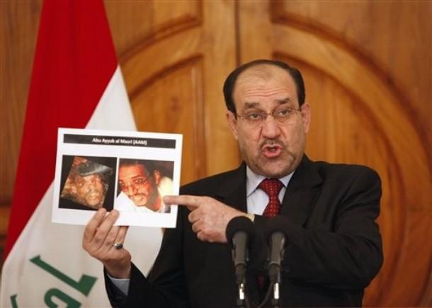 المالكي بدلا من تنفيذ مطالب المتظاهرين يعزف على اسطوانة مشروخة    بقلم الدكتور احمد العامري