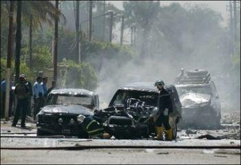 بتر ساق المحقق القضائي كريم السعدي من جراء انفجار عبوة جنوب تكريت