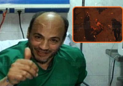 """حماده صابر """" مسحول الاتحادية """" ينفي اعتداء قوات الامن عليه"""