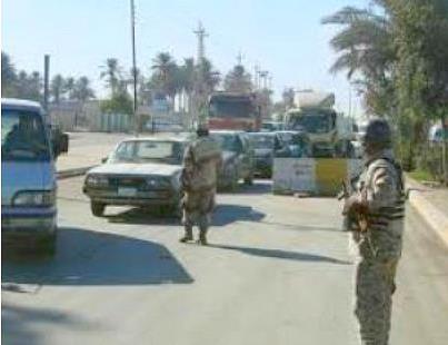 القوات الأمنية تبدأ بإخلاء بعض مناطق بغداد من مواطني المحافظات