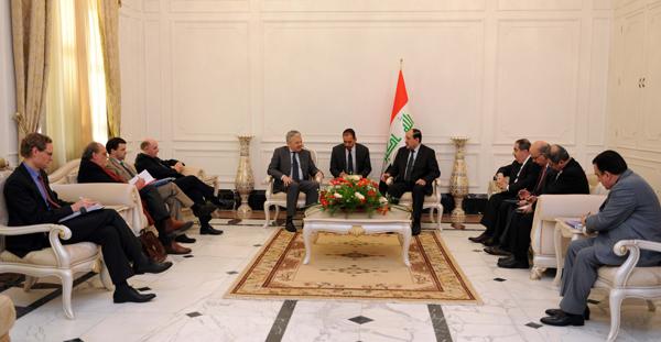 المالكي يثمن قرار بلجيكا بافتتاح قنصليتها في بغداد