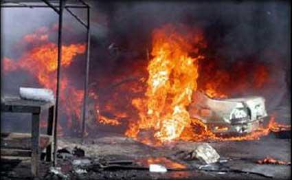 ارتفاع ضحايا تفجيري الشعلة الى 30 بين قتيل وجريح