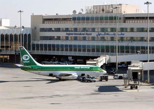 الطيران المدني : ربط المطارات العراقية بالدول المجاورة عن طريق الاتصالات الراديوية