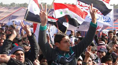 دعوات لتاجيل انتقال التظاهرات الى بغداد تحسبا من اختراقها