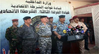 نينوى تعلن سحب لواءين من الجيش والشرطة