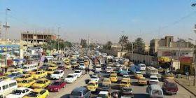 مرور بغداد: 1,5 مليون سيارة في بغداد وكثرة السيطرات هي سبب الأزمة المرورية
