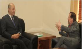 برهم صالح يبحث مع كوبلر الأزمة السياسية بالبلد واهمية دور الامم المتحدة لمعالجتها