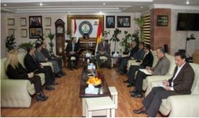 أرمينيا تبدي رغبتها بالاستثمار في كردستان