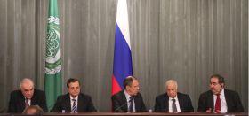 وزير الخارجية يشارك في منتدى التعاون العربي – الروسي