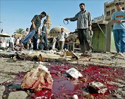 مقتل واصابة 167 في انفجارات هزت العاصمة بغداد