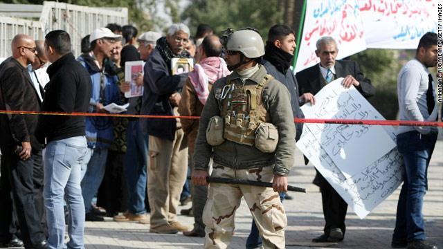 غرب بغداد .. إصابة ضابط كبير في الداخلية بتفجير عبوة لاصقة