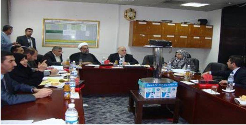 لجنة من التحالف الوطني تتفاوض مع التحالف الكردستاني والعراقية لتمرير الموازنة