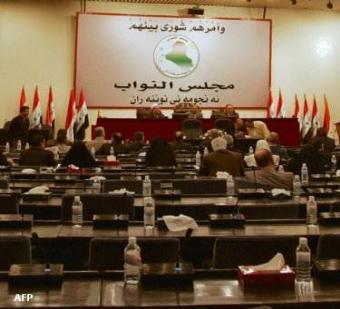 النجيفي : عدم اكتمال النصاب رفعت  الجلسة إلى السبت المقبل