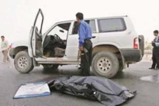 اغتيال عقيد بالجيش السابق بأسلحة كاتمة شمال غرب بغداد