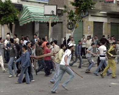 نزاعات بين المسلمين والمسيحين في مصر