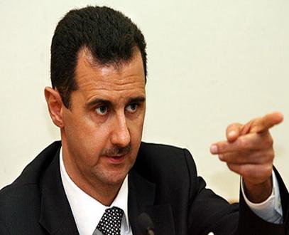 الاسد يتهم بريطانيا بدعم المعارضة للاطاحة به