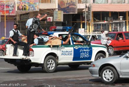 اصابة ثلاثة من عناصر الشرطة الحكومية بينهم ضابط غربي الموصل