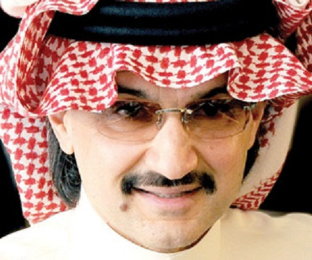 الوليد بن طلال يحتج على سوء تقدير ثروته في مجلة فوربس