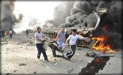 انفجار عبوتان يسفر عن مقتل اثنين وجرح عشرة شرق بغداد