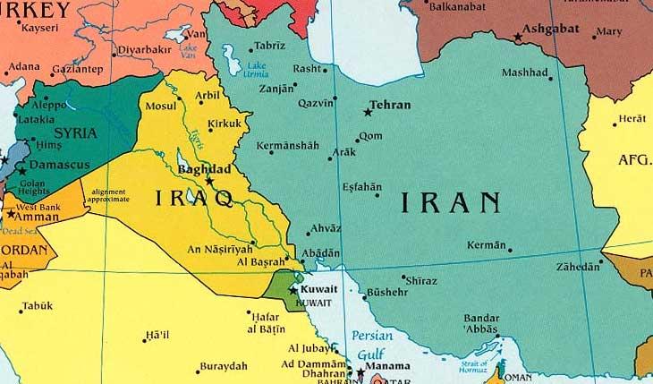 دعم ايراني للعراق في مواجهة الارهاب
