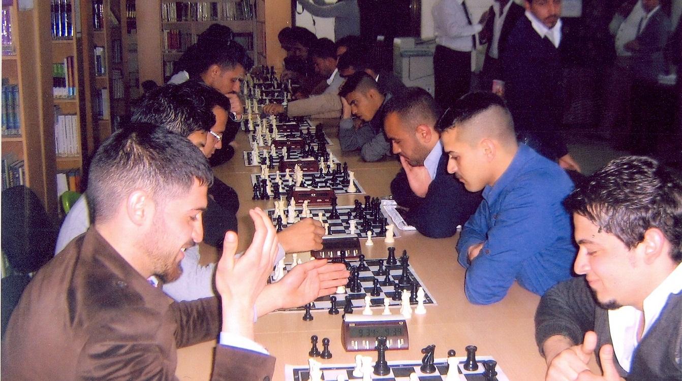 نقل تنظيم بطولة الشطرنج الدولية من محافظة اربيل إلى بغداد