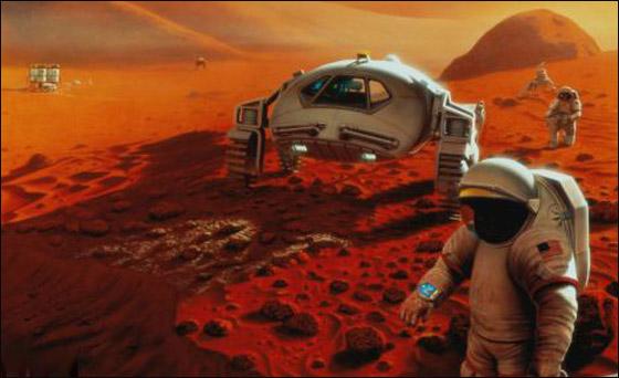 ناسا:الظروف كانت مناسبة لظهور الحياة على الكوكب الأحمر