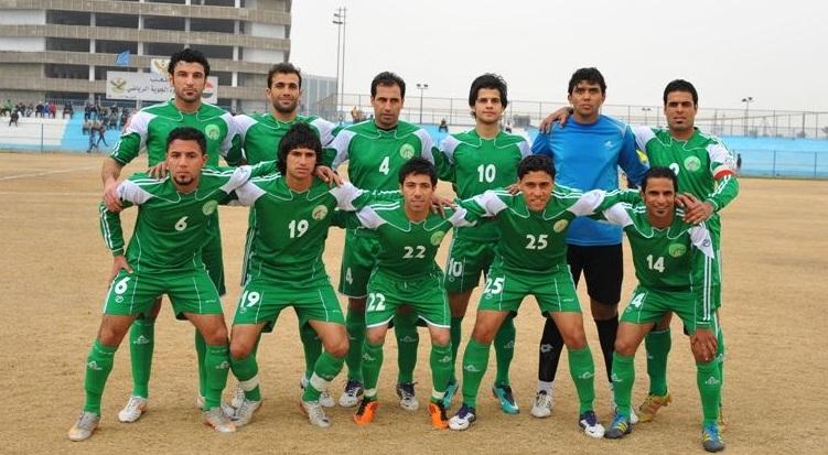 فريق النفط يلتقي الانصار اللبناني في مباراة تجريبية اليوم