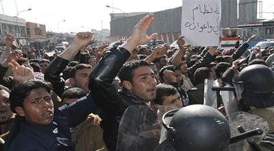 انتشار امني مكثف في الموصل يسبق الصلاة الموحدة