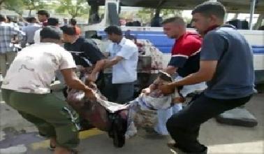 استشهاد وإصابة 10 أشخاص بتفجير انتحاري شمال الحلة