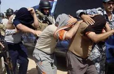 شرق الفلوجة اعتقال ثلاثة اشخاص بتهمة الارهاب