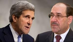 """مسؤول امريكي :كيري سيتحدث مع المالكي حول الازمة السورية بصيغة  """"يجب رحيل الاسد"""" وليس دعمه !"""