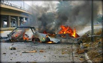 ارتفاع ضحايا التفجير في الموصل الى 14 بين  قتيل وجريح