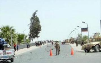 تفجيرات اليوم ..غلق جسري السنك والجمهوري ومنع عبور السيارات باتجاه المنطقة الخضراء