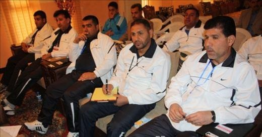 الدورة الدولية للمدربين العراقيين باشراف خبراء من ايران